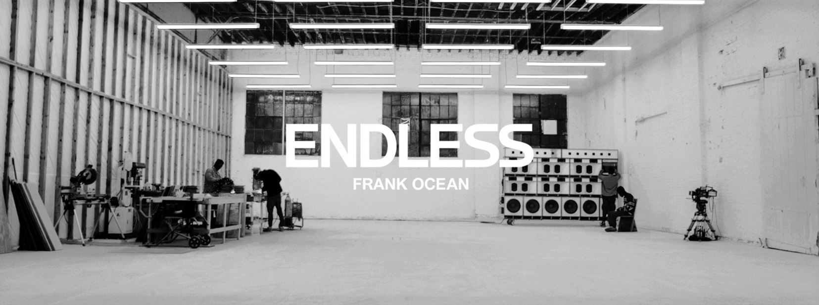 Endless Frank Ocean out now exclusively on Apple Music.JPG