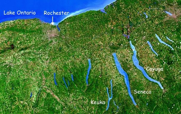 Map Of New York Finger Lakes.Finger Lakes Of New York State Apple Ipad Forum
