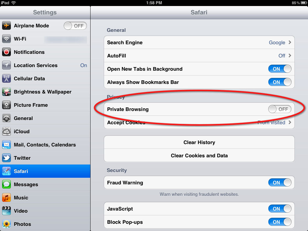 How to start private browsing sessions in your web browser
