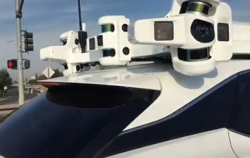 New videos and pictures of Apple's self driving car emerge.JPG