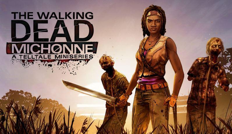 The Walking Dead Michonne gets a release date.JPG