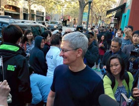 Tim Cook thought to be in Paris.JPG