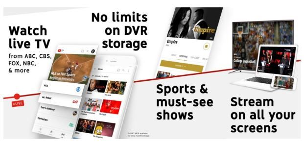 YouTube TV out now in five US cities.JPG