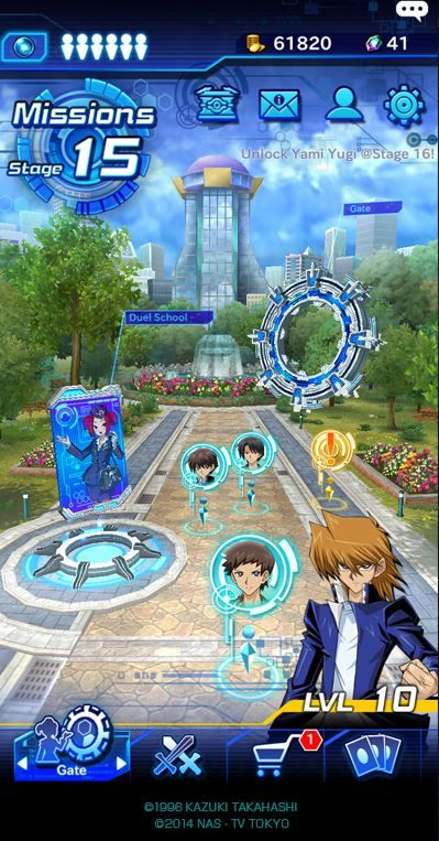 Yu Gi Oh duel links out now.JPG